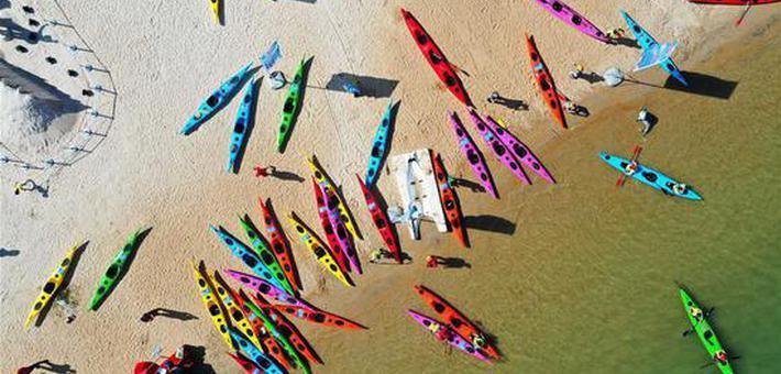 皮划艇——环海南岛巡回赛开赛