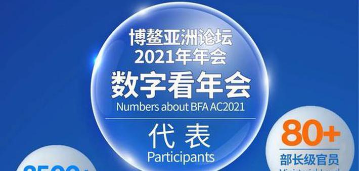 一组数字看博鳌亚洲论坛2021年年会