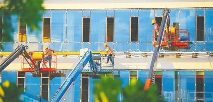 海口金融中心项目明年1月竣工