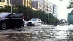 海口等6市县10日至13日降雨量高达250毫米 局地350毫米
