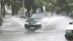 滚动丨热带低压过境 海南普降暴雨