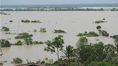 受南海热带低压影响 南渡江上游发生超5年一遇中洪水