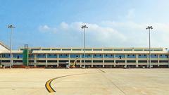 海口美兰机场10日14时航班起降恢复正常