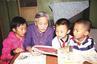 十堰退休奶奶教孩子英语