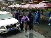上海游客游武当山突发疾病昏倒 警民携手紧急送医