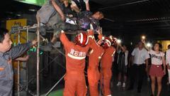 鄂州一电工操作不慎触电 紧急时刻警民齐救援