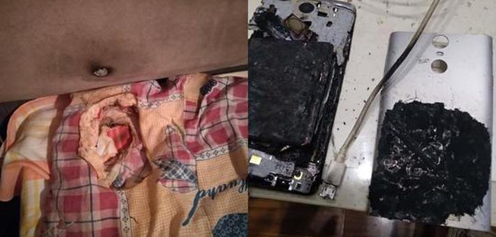 小米手机充电自燃 网友联系客服被告知系人为所致