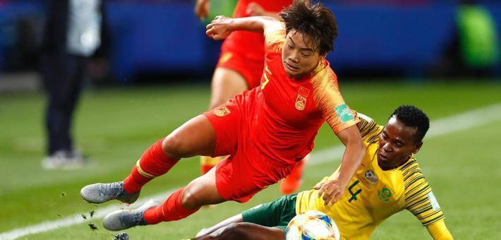 女足世界杯中国女足1:0南非队