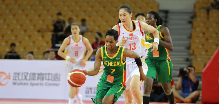 热身赛-中国女篮武汉大胜塞内加尔