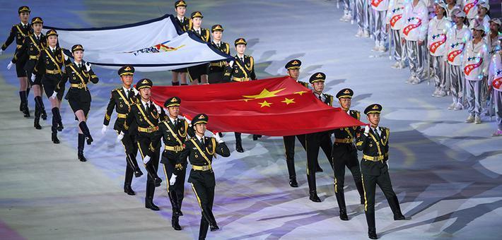 第七届世界军运会在武汉开幕