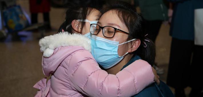 贵州第五批医疗队102人出征支援湖北武汉