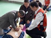 2018武汉马拉松医疗志愿者培训拉开帷幕