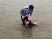 女子因前夫有了新女友跳江轻生 民警冒险下水救回