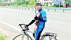 恩施小伙骑自行车来汉上学 7天骑行700公里瘦了6斤多