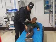 男孩被整根香肠卡喉危在旦夕 民警紧急送医挽回生命