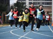 """2019汉马首场亲子公益跑""""跑步吧 爸爸""""启动"""
