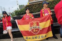 18辆大巴接送!武汉卓尔热情接待广州恒大球迷