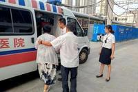 旅客突发疾病 列车急停十堰车站救人