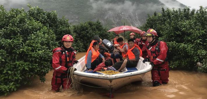 广西桂林暴雨突袭多地受灾