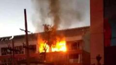 张家口一小区发生天然气爆炸事故 致5人受伤