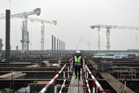 河北雄安新区首批21个重点项目复工