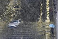 8月5日-8日平山县所有景区关闭!河北继续发布暴雨黄色预警