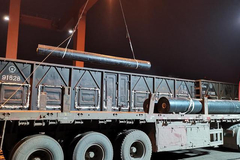 雄安新区两条建材运输通道路基工程已完成逾九成