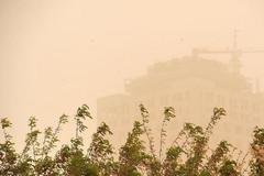 中国北方部分地区遭遇区域性PM10重度及以上沙尘污染