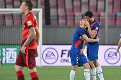 中超:河北战平上海申花