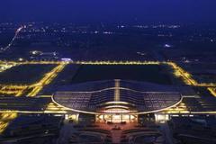 京雄城际铁路雄安站配套工程新月公园正式开园迎客