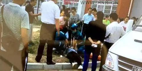 驻马店幼儿师范女生上体育课时倒地死亡