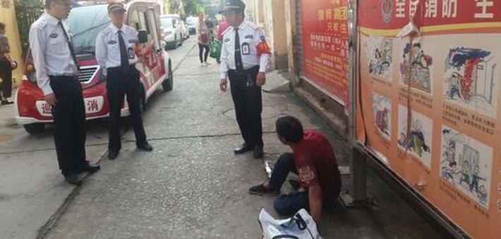男子郑州寻妻病倒街头 热心人援手