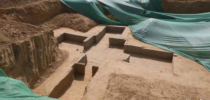 """郑州考古发现两汉时期的""""三室一厅"""""""