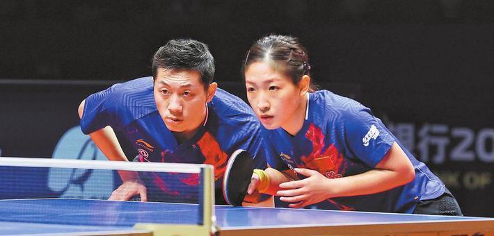 许昕、刘诗雯拿到东京奥运会混双资格
