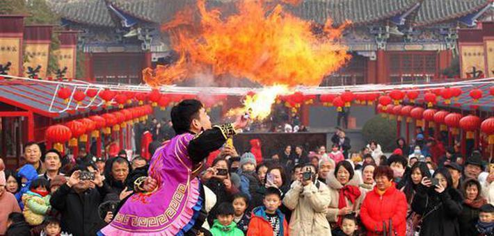 新春庙会年味儿浓