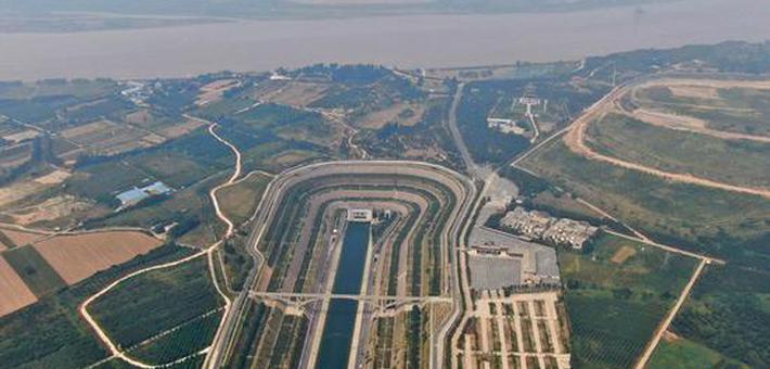 南水北调穿黄工程:黄河长江相遇