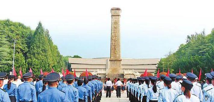 河南多地举行烈士纪念日公祭活动
