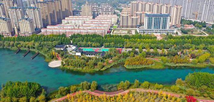 许昌:城水相依 风景迷人