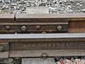 陕西发现长7.5米的清代钢轨仍在使用