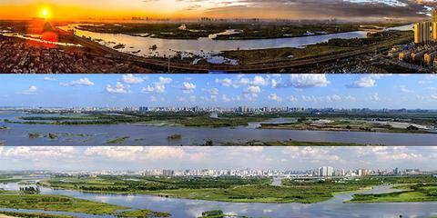 老人用3张巨幅照片惊艳了整个哈尔滨
