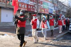 【志愿服务】克山县新时代文明实践中心组织志愿者 开展防疫宣传活动