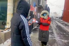 齐齐哈尔克山县:千名干部进社区 众志成城守家园
