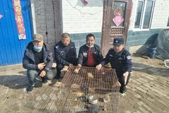 富裕县救护国家二级保护鸟类白骨顶鸡