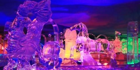 老街冰屋重雕百件冰景迎南方客
