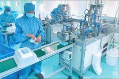 齐齐哈尔恒鑫医疗器械有限公司 日产4万一次性医用口罩