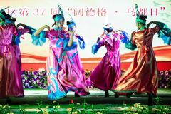 齐齐哈尔梅里斯区庆祝第37届抹黑节