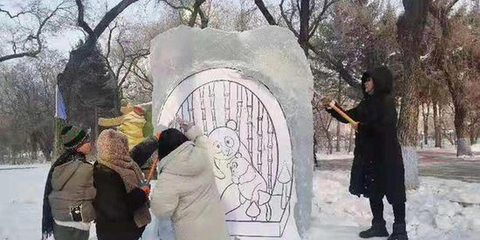 """围观!兆麟公园有一群大学生在""""搞事情"""""""