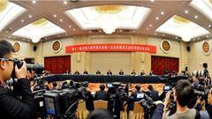 黑龙江省代表团举行第三次全体会议 张庆伟陆昊等我省代表答记者问