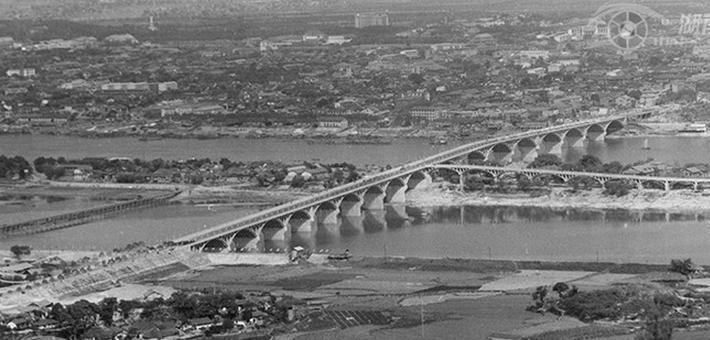 历史重现!长沙橘子洲大桥的前尘往事