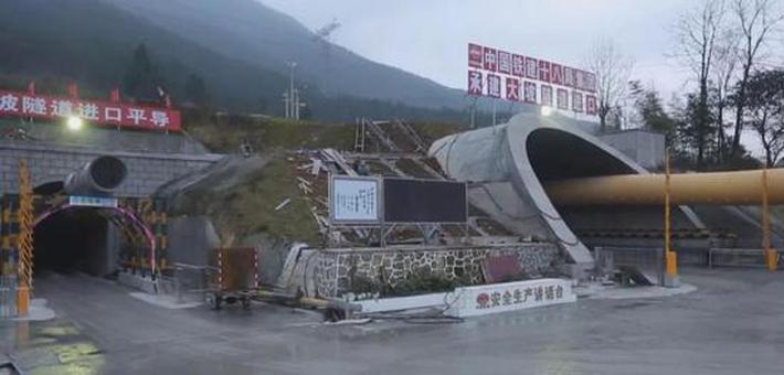 湖南段境内56座隧道261公里正线全贯通